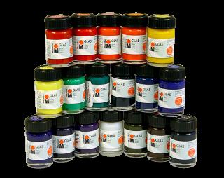 Краска для стекла на водной основе Marabu-Glas