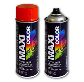 Аэрозольная краска универсальная MAXI COLOR (RAL) алкидная/нитро