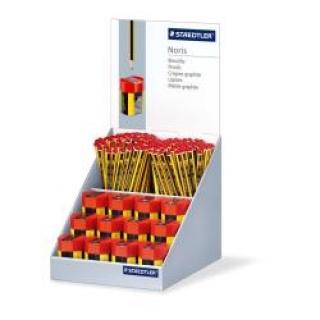 Дисплей из 144 графитовых карандаша Noris+ 12 точилок 511004, картон