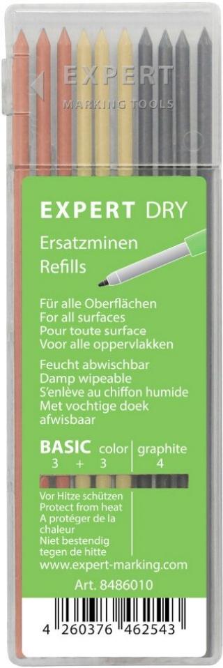 Грифели для автоматических карандашей ALL-In-One Basic, блистер
