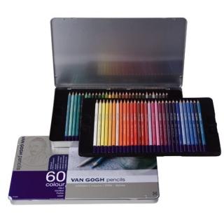 Подарочный набор цветных художественных карандашей Van Gogh Royal Talens, 60 цветов