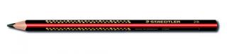 Карандаш чернографитовый трехгранный Jumbo 2B, 1 штука из дисплея