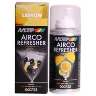 """Очиститель кондиционера Motip Black Line """"Лимон"""", высокоэффективно очищает и освежает, 150 мл"""