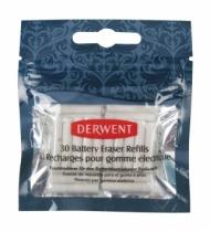 Ластики сменные для электрического ластика Derwent 30шт в пластик.упаковке