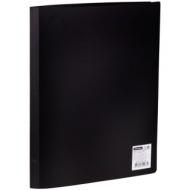Папка с 20 вкладышами OfficeSpace, 16мм, 400мкм, черная