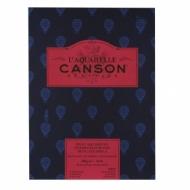 Альбом для акварели Canson Heritage 300г/кв.м (хлопок) 23*31см 12листов Сатин склейка по короткой стороне