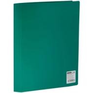 Папка с 40 вкладышами OfficeSpace, 25мм, 400мкм, зеленая