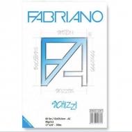 Альбом-склейка для рисования А2 Schizzi Fabriano, 42х59,4см, 60 листов, 90 г/м2