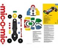 Конструктор MIC-O-MIC: Автомобиль гоночный