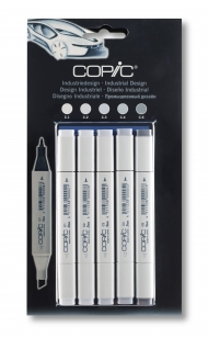 Набор маркеров Copic Classic Industrial Design 5 штук в блистере
