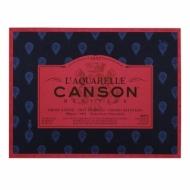 Блок для акварели Canson Heritage 300г/кв.м (хлопок) 23*31см 20листов Сатин склейка по 4 сторонам