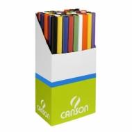Набор бумаги Canson крафт 70г/кв.м 0.68*3м 8 цветов (50 рулонов)