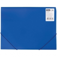 Папка на резинке OfficeSpace А4, 500мкм, синяя