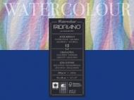 Альбом для акварели Fabriano Watercolour Studio 300г/кв.м (25%хлопок) 36x48см Фин 12л склейка по 1 стороне