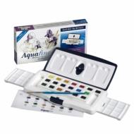 Набор акварельных красок Daler Rowney Aquafine, в кюветах, 20 штук