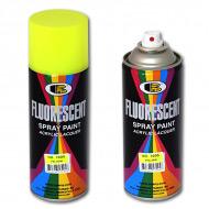 Универсальная флуоресцентная акриловая краска BOSNY, цвета в ассортименте, 400 мл