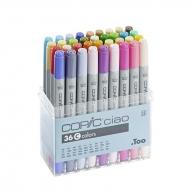 Набор маркеров для рисования Copic Ciao Set C, 36 цветов