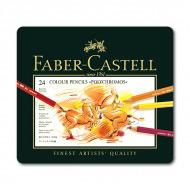Цветные карандаши FABER-CASTELL POLYCHROMOS профессиональные, 24 цв.