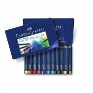 Цветные акварельные карандаши FABER-CASTELL Art Grip Aquarelle трехгранные, 36 цветов