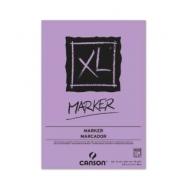 Альбом для маркера Canson Xl 70г/кв.м 21*29.7см 100листов Белая гладкая склейка по короткой стороне