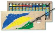 Набор гуашевых красок Solo Goya Tempera C.KREUL 12 цветов в тубах по 20 мл, для рисования