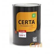Термостойкая эмаль ЦЕРТА черная до 1200 °C 0,8 кг