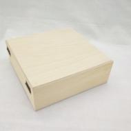 Заготовка Timberlicious деревянная для декорирования шкатулка 18х18х6см