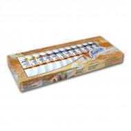 Масляные краски «Ладога» НЕВСКАЯ ПАЛИТРА, набор 12 цветов по 18 мл