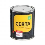 Термостойкая эмаль ЦЕРТА черная до 700 °C 0,8 кг
