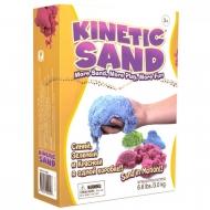 Цветной кинетический песок Kinetic Sand, 3 цвета, 3 кг