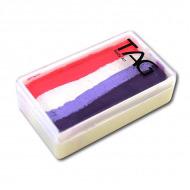 Профессиональный гипоаллергенный аквагрим Сплит-кейк TAG «Конфета», 30 гр
