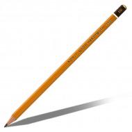"""Профессиональные чернографитные карандаши KOH-I-NOOR """"Art"""", набор 12шт, тв.  8В-2Н, металлический пенал"""