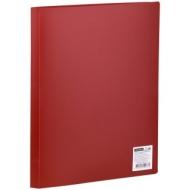 Папка с 10 вкладышами OfficeSpace, 8мм, 400мкм, красная