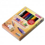 Набор маркеров Marvy Wet Looks Primary для эмбоссинга и скрапбукинга, 1-1,5 мм, 8 шт.