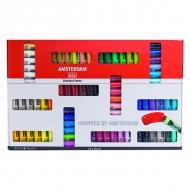Набор акриловых красок Amsterdam Standard Royal Talens, 72 цвета по 20мл