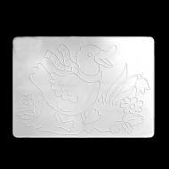 Доска для лепки №2 ЛУЧ, рельефный трафарет, формат А4