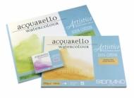 Блок для акварели Fabriano Artistico Traditional White 200г/кв.м (хлопок) 12,5x18см Фин 30л склейка по 4 сторонам