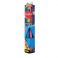 Карандаши цветные Color Peps Maped, 12 цветов, с точилкой