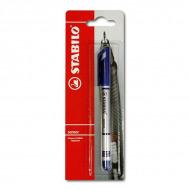 Ручка-линер капиллярная Sensor STABILO для письма, графики и рисования, синяя