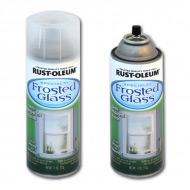 Аэрозольная краска Specialty Frosted Glass RUST-OLEUM с эффектом замерзшего стекла