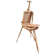 Этюдник Brauberg Art Classic, бук, 50х34х11 см, высота холста 87 см, ножки деревянные 90 см, ремень