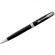"Ручка шариковая Parker ""Sonnet Matte Black СT"" черная, 1,0мм, поворот., подар. уп."