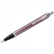 "Ручка шариковая Parker ""IM Light Purple CT"" синяя, 1,0мм, кнопочн., подар. уп."