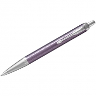 """Ручка шариковая Parker """"IM Premium Dark Violet CT"""" синяя, 1,0мм, кнопочн., подар. уп."""