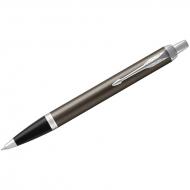 "Ручка шариковая Parker ""IM Dark Expresso CT"" синяя, 1,0мм, кнопочн., подар. уп."