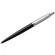 "Ручка шариковая Parker ""Jotter Bond Street Black CT"" синяя, 1,0мм, кнопочн., подар. уп."
