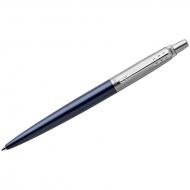 """Ручка шариковая Parker """"Jotter Royal Blue CT"""" синяя, 1,0мм, кнопочн., подар. уп."""