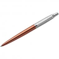 """Ручка шариковая Parker """"Jotter Chelsea Orange CT"""" синяя, 1,0мм, кнопочн., подар. уп."""