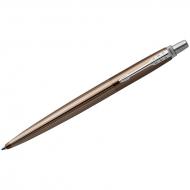 "Ручка шариковая Parker ""Jotter Premium Carlisle Brown Pinstripe CT"" синяя, 1,0мм, кнопочн, подар.уп."