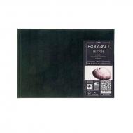 Блокнот для зарисовок Fabriano Sketch Book 110г/м.кв 14,8x21см мелкозернистая 80л (ландшафт), сшивка